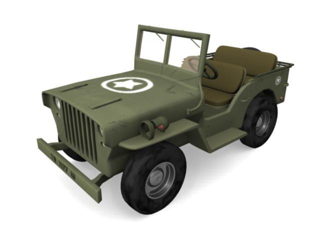 fbx military jeep