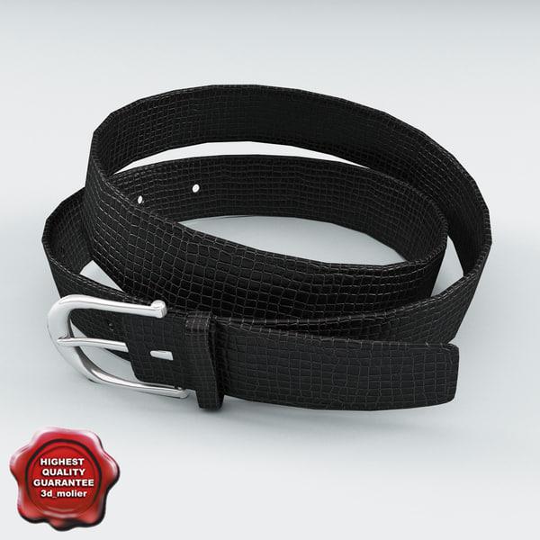3ds max leather belt v5