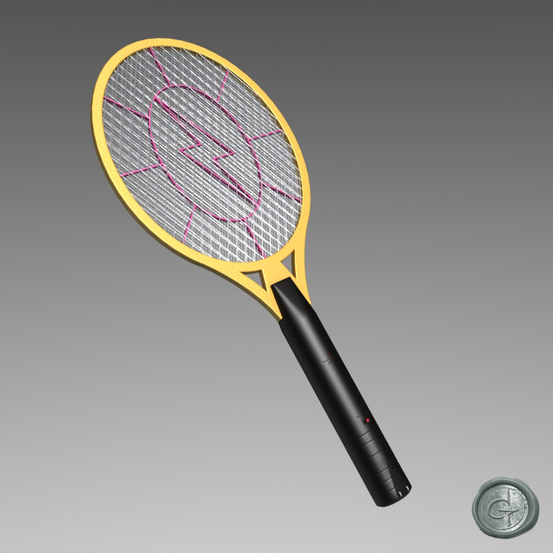 electronic mosquito 3d model