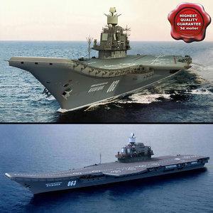 3d russian aircraft carrier admiral