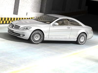 mercedes benz 2007 luxury 3d 3ds