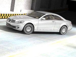 mercedes benz 2007 luxury 3d 3ds