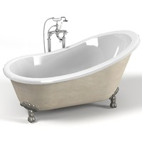 classic devon bath bathtub on legs free standing