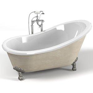 3d classic devon bath