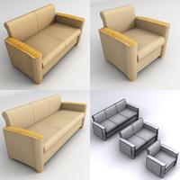 cody lounge 3d max