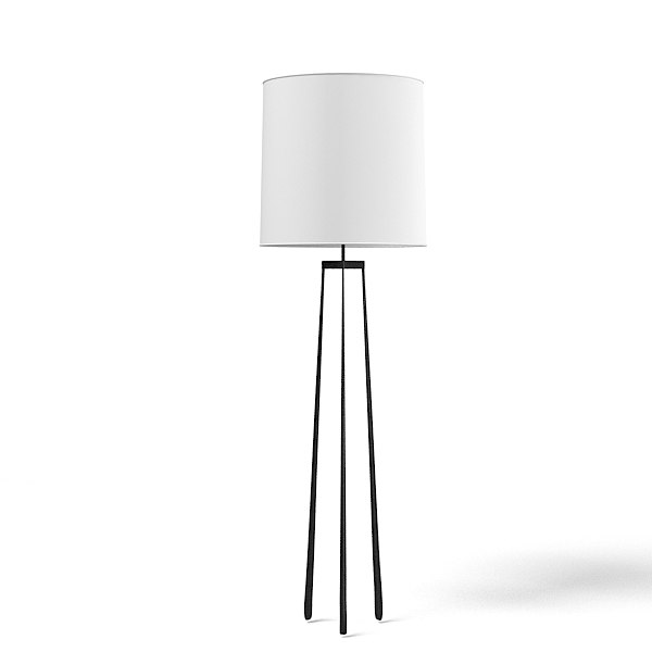 3d floor lamp torshiere model
