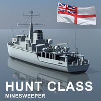 Hunt Class Minesweeper