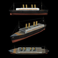 3d model ocean liner