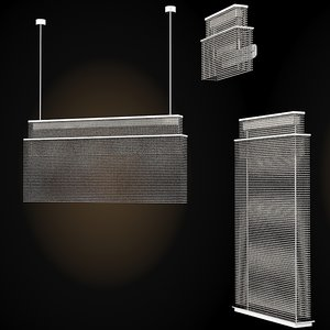 3d luminara modern contemporary model