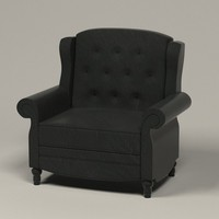 3ds max luxury office chair