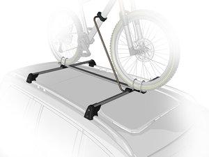 bike rack 3d model
