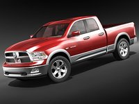 dodge ram 2009 double cab midpoly