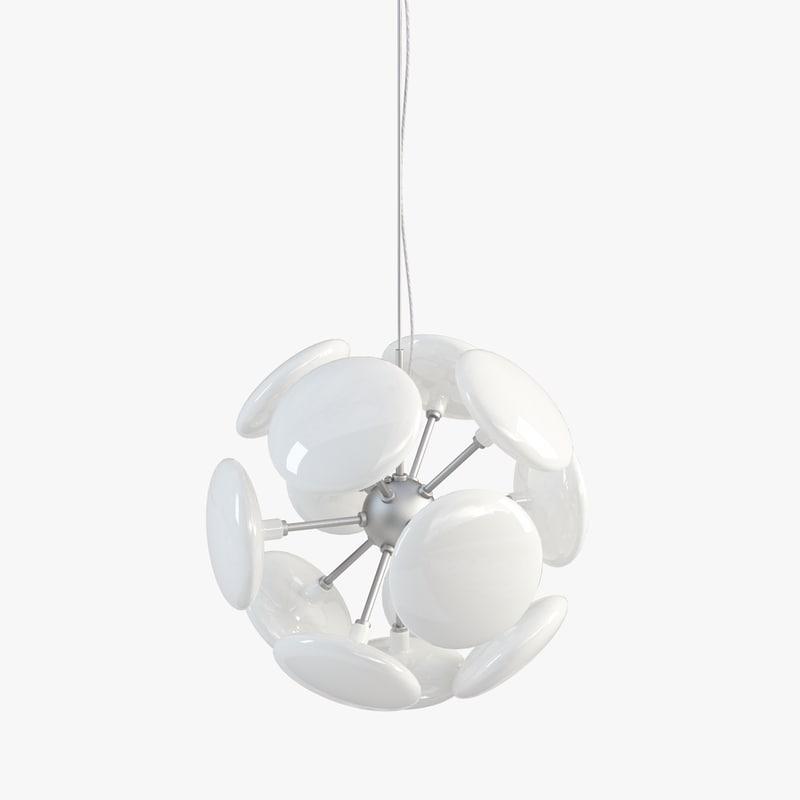 almerich miniblow hanging lamp 3d max