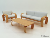 Sofa Minoru Nagahara Swing Collection