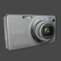 3d sony cyber shot camera
