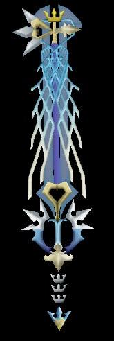 3d model ultima keyblade