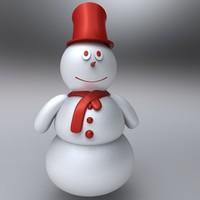 maya snow man