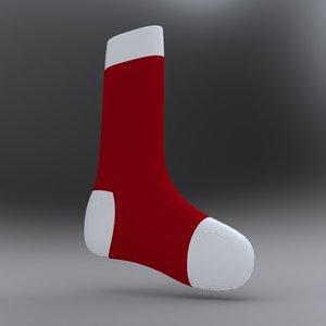 3d xmas socks