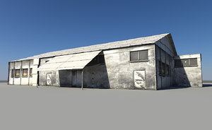 3ds max small warehouse