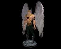 3d model hawkman