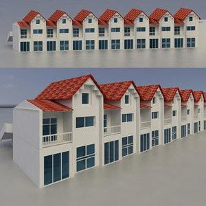 maya building exterior multi purpose