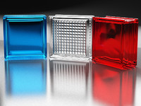 3d model glass blocks