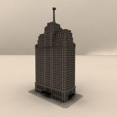 skyscraper new york 3d 3ds