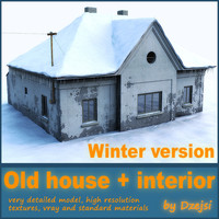 Old house - winter version