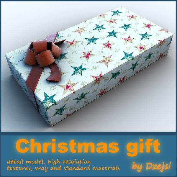 3d model christmas gift