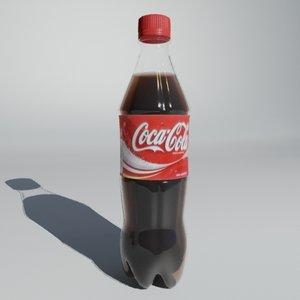 bottle ready render 3d model