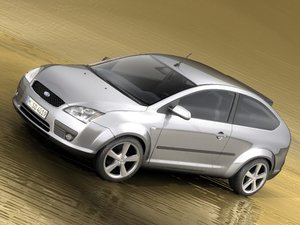 focus ii hatchback 3d 3ds