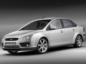 focus ii sedan 3d model