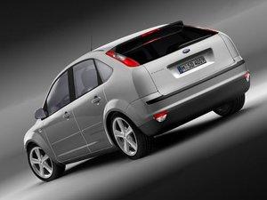 3d model focus ii 5d hatchback