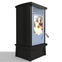 Wood Pellets Burning Stove