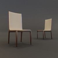 chairs gautier 3d max
