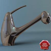 3d bathroom mixer vivaldi model