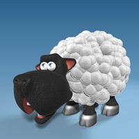 max cute cartoon sheep