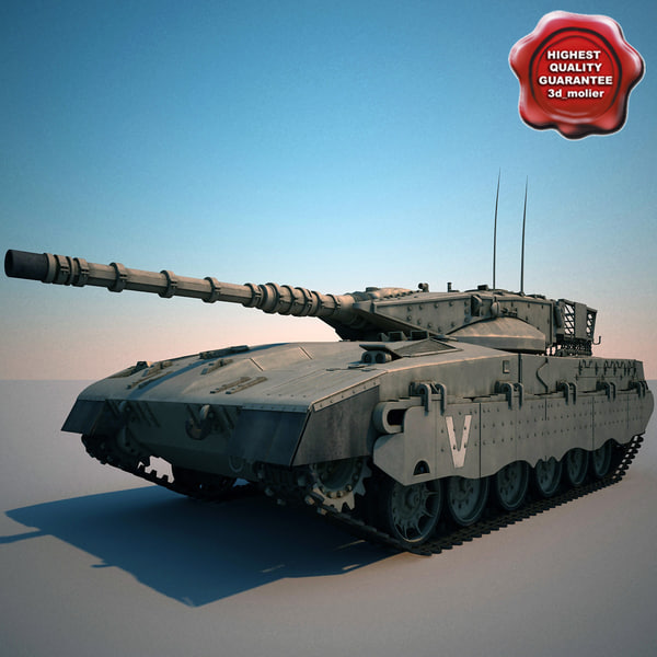 israel tank merkava 3ds