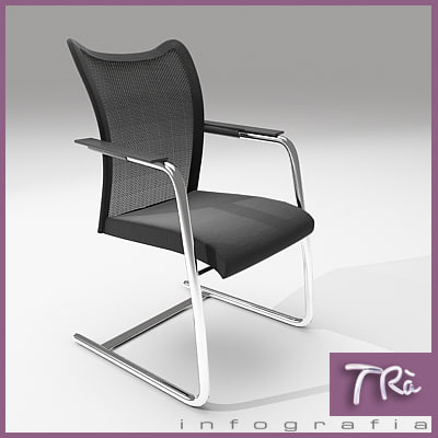 3d office chair kele model