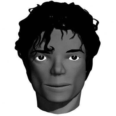 michael jackson 3d model