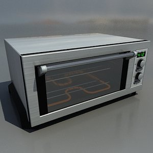3d toaster oven