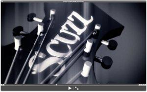 bc rich electric guitar 3d model