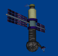 3d satellite