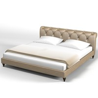 Baxter Verona tufted bed modern contemporary