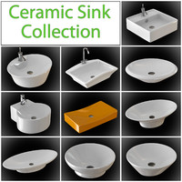 Ceramic sink collection
