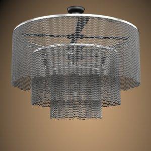 3d model contemporary modern ceiling