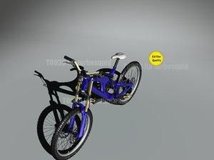 3d model mountain bike