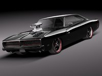 lwo dodge charger 1969 sport