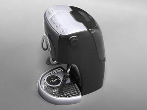 expresso coffe maker 3d max
