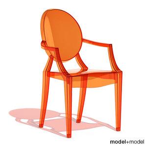 max louis ghost armchair kartell